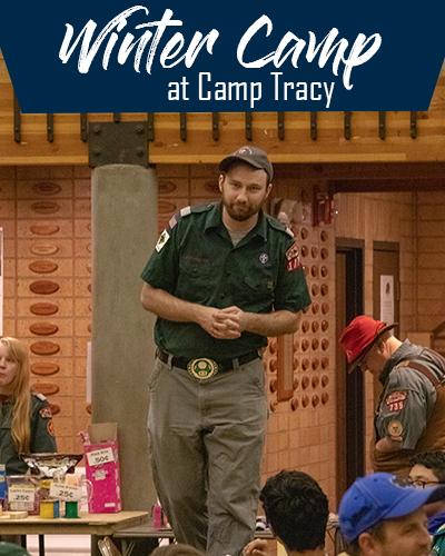 Winter Camp at Camp Tracy