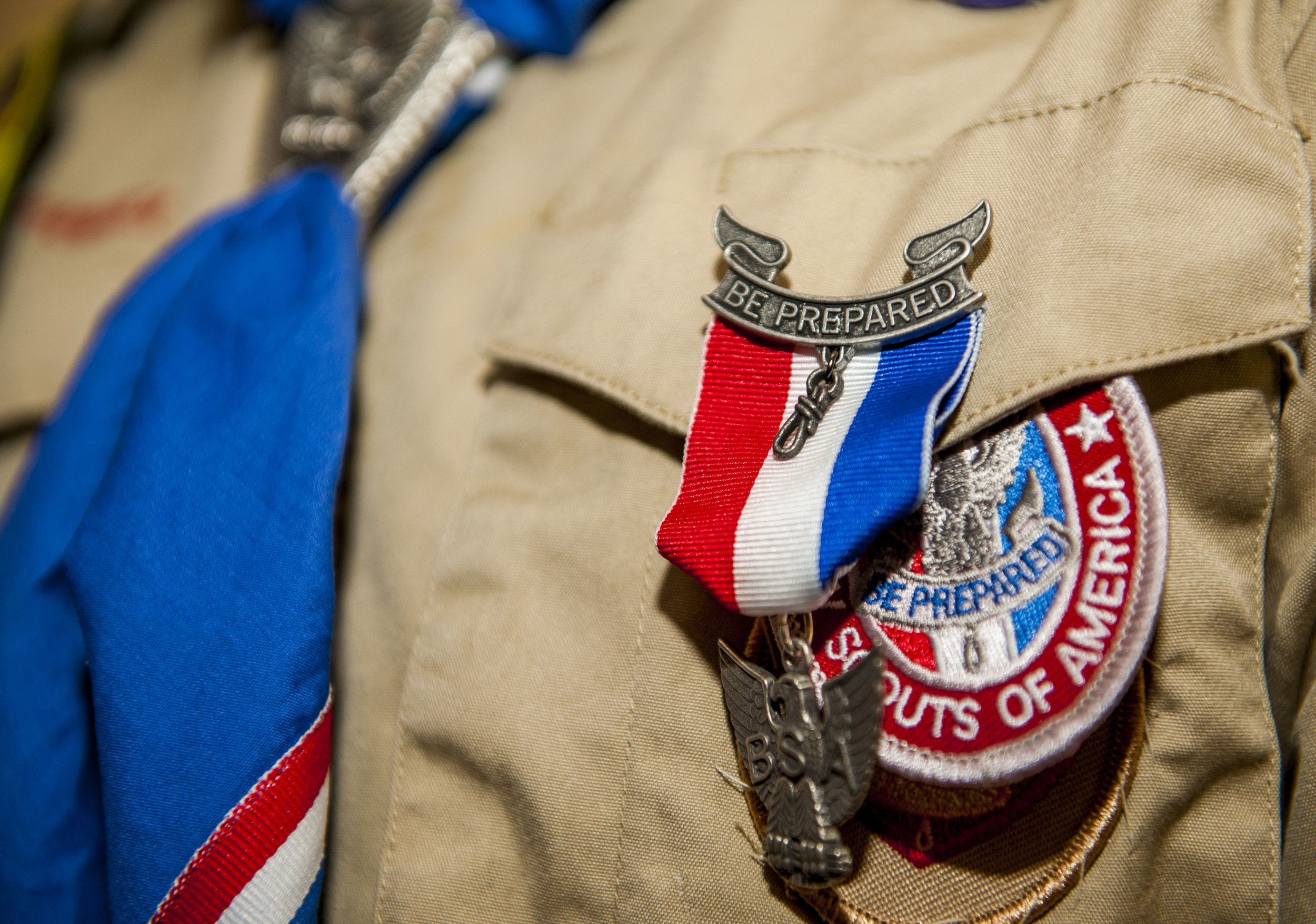 While you can certainly donate uniforms to a local thrift store, try finding a Scout who you could donate the uniform directly to.