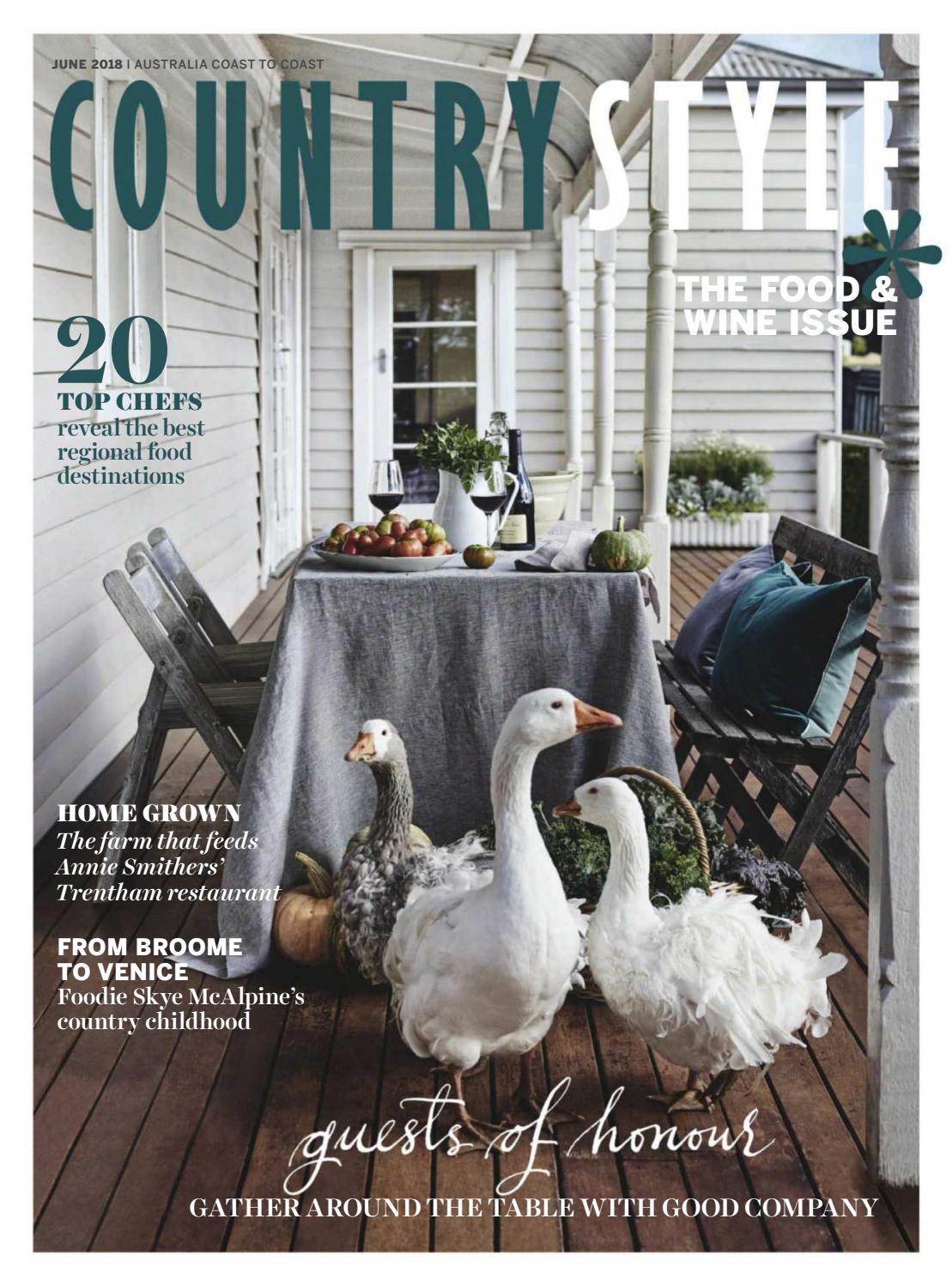 Annie Smithers in Country Style Magazine