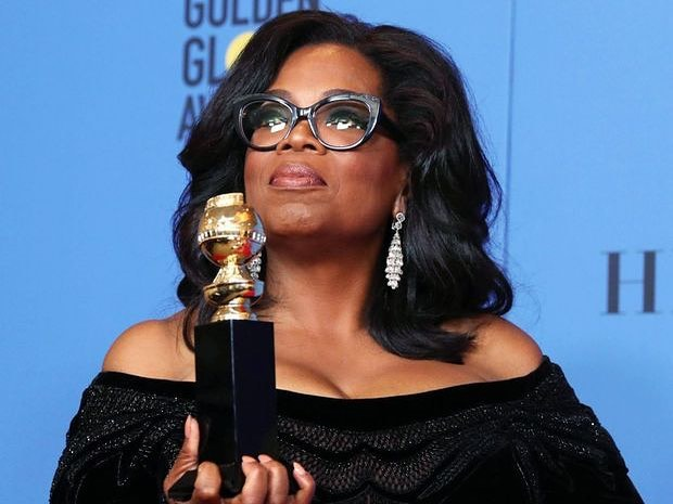 Going to bed, still in so much awe of this woman @oprah  She has always inspired me with her clarity, articulation, story telling and ability to stand up for equality in all forms.  Thanks O!  #OWN #Oprah #goldenglobes2018 #Inspiration #Remarkable #ThankYou