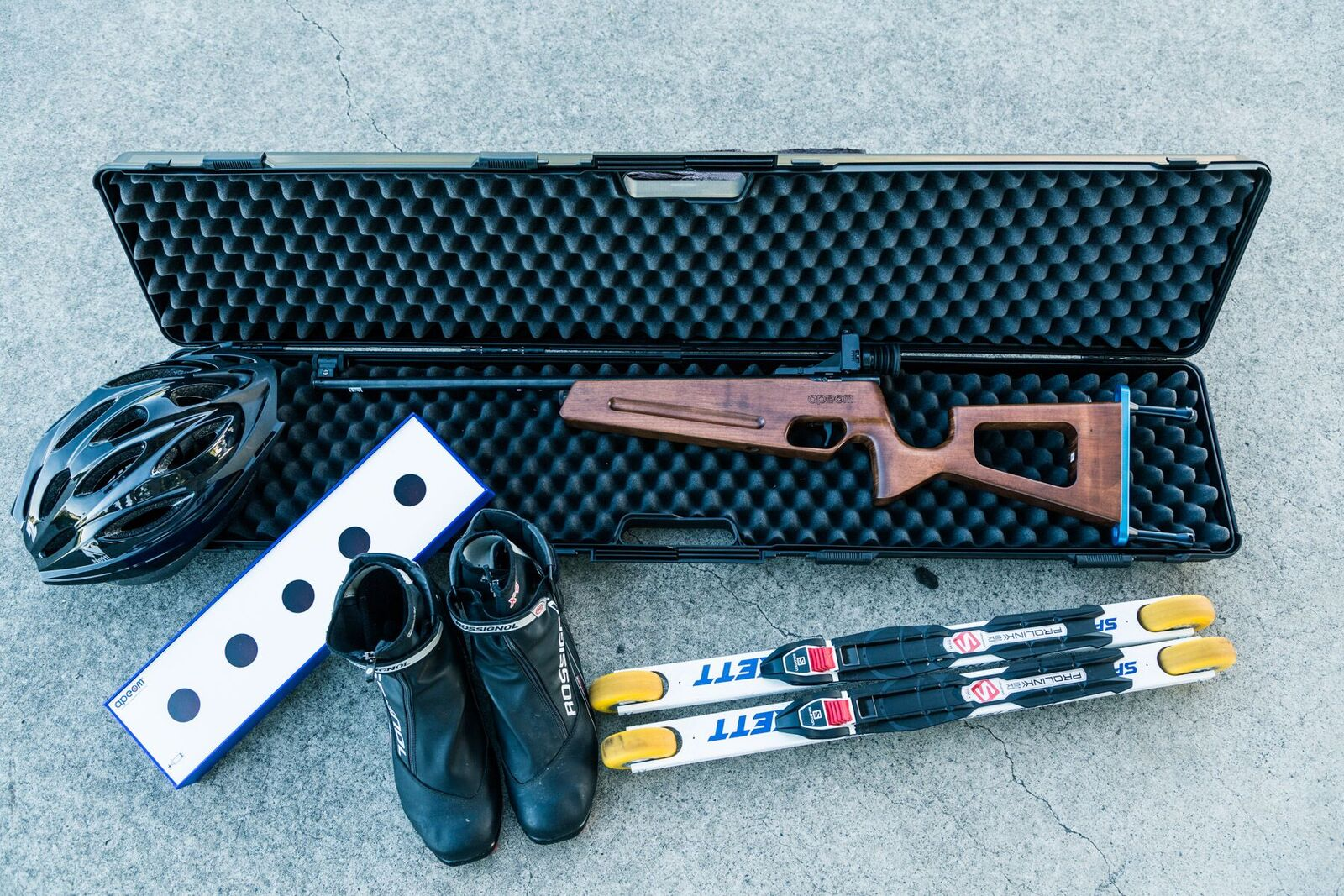 LASER BIATHLON - Take the Winter Olympics sport of Biathlon and transport it to Queensland!....How can you ski and shoot when there is no snow!JUST DO IT: ROLL has the answer. We have substituted Roller Skis for Cross country skis because they imitate the actions and feel of skis on snow and use quality Laser rifles which emit a very safe, Level 1 laser instead of bullets. Add to that, ski boots, protective gear, targets and ski poles and you have the dry land version of Winter Biathlon