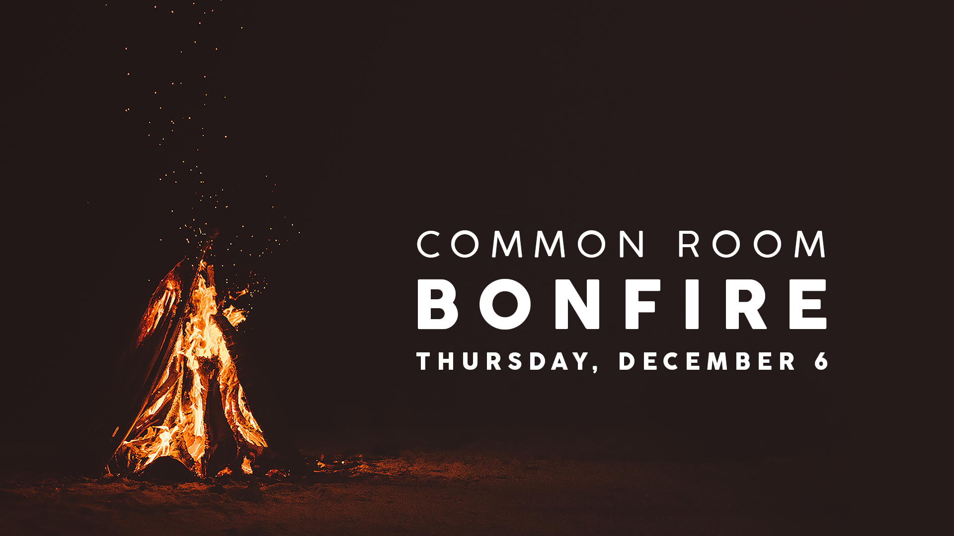 Fall, fire, and friends? What more could you want!  All young adults are welcome to join us for a bonfire at 7pm!