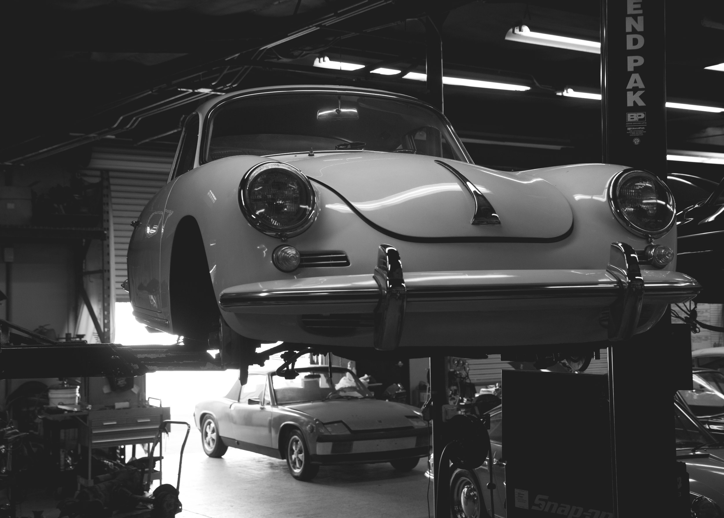 - Our facility is located in Anaheim, at the heart of Orange County. A 6,800 sq.ft. facility that boasts four lifts, a dedicated engine section, exhaust/suspension area and a fully-stocked parts department, we have the tools, the expertise and the enthusiasm that your aircooled steed needs.Make an appointment today and see what we can do for you.