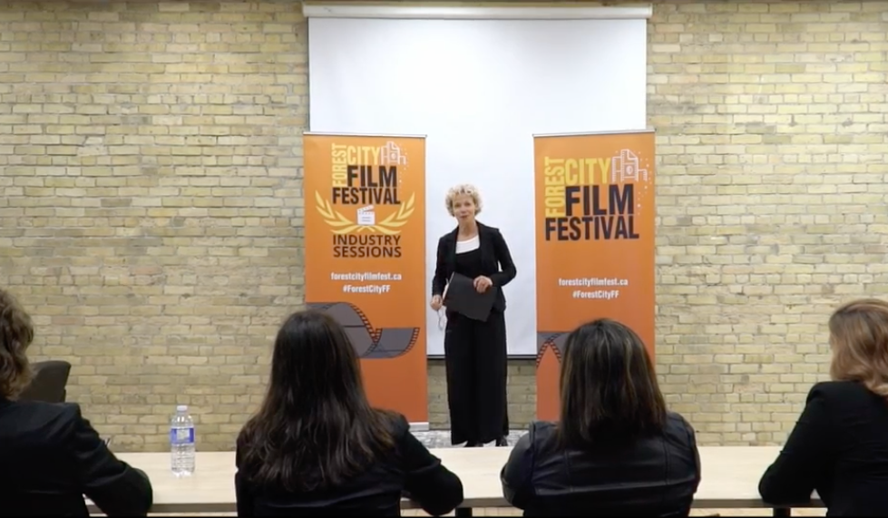 Pitching at the Forest City Film Festival