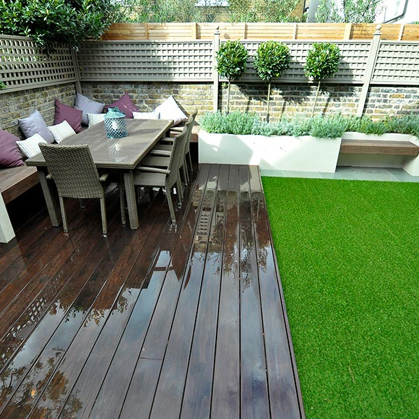 Decking & Carpentry - Decking, bin stores, sheds, pergolas and bespoke benches.
