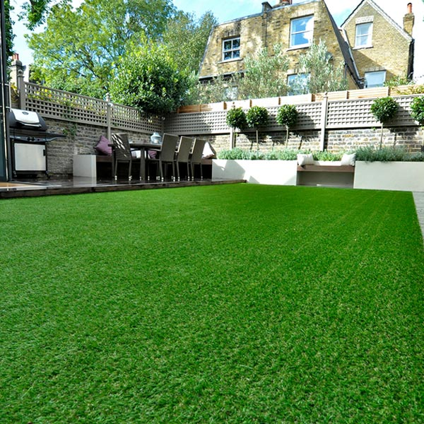 Artificial Lawns - Increasingly popular maintenance-free lawns.