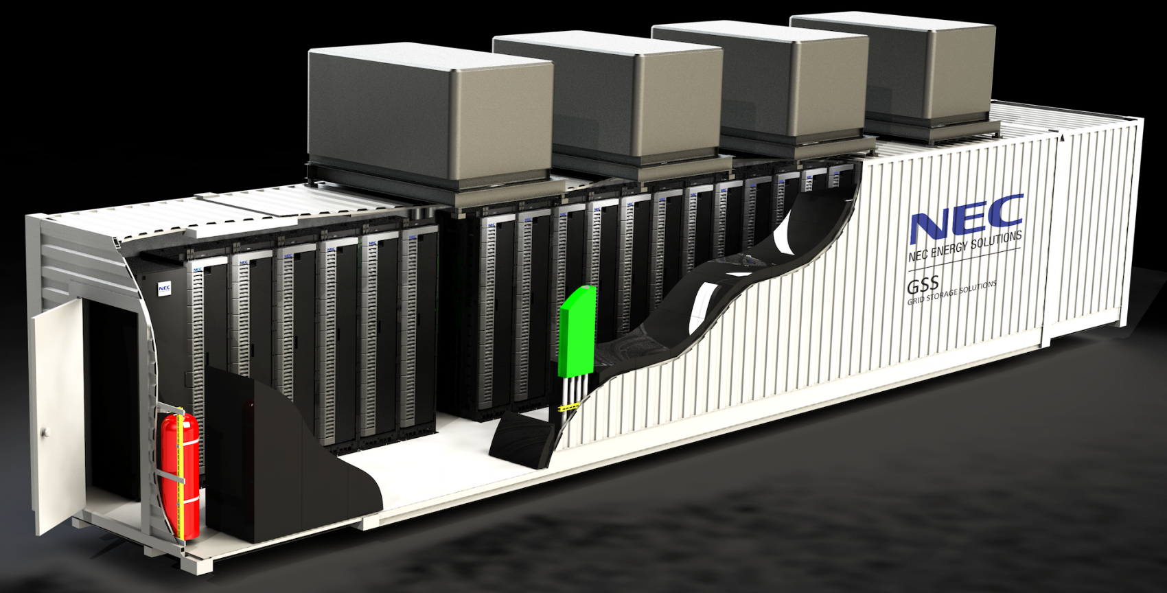 NEC Energy Solutions - GSS Multi Megawatt solution