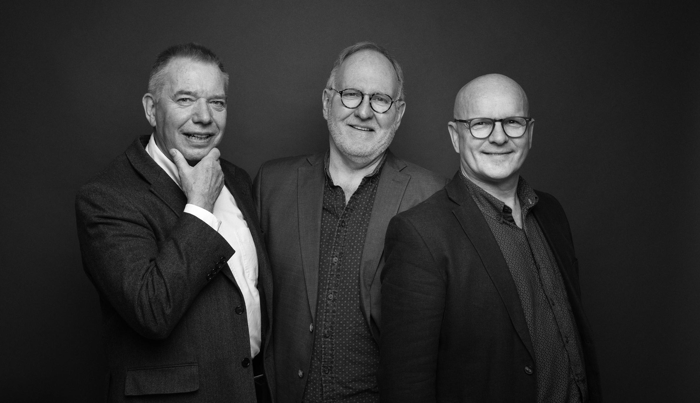 F.v. Anders Wahlstedt, Bjørn Åstveit og Jan Bjørnar Sørensen.