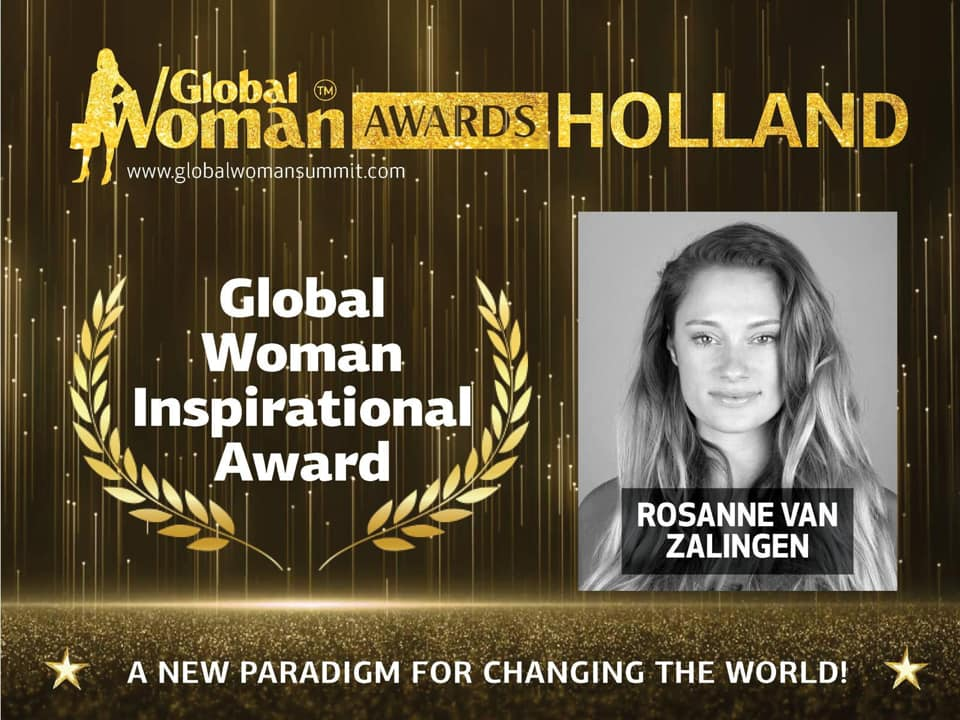 Nominatie Global Woman Inspirational award