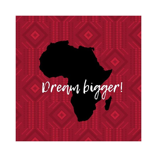 Sometimes the people around you might think your dreams are too big. Maybe that because they're own dreams are too small. #brandbuilder #storyteller #legacy  #africanentrepreneur #buildyourbrand #doingbusinessinafrica #africanbusiness #inspiredbyafrica