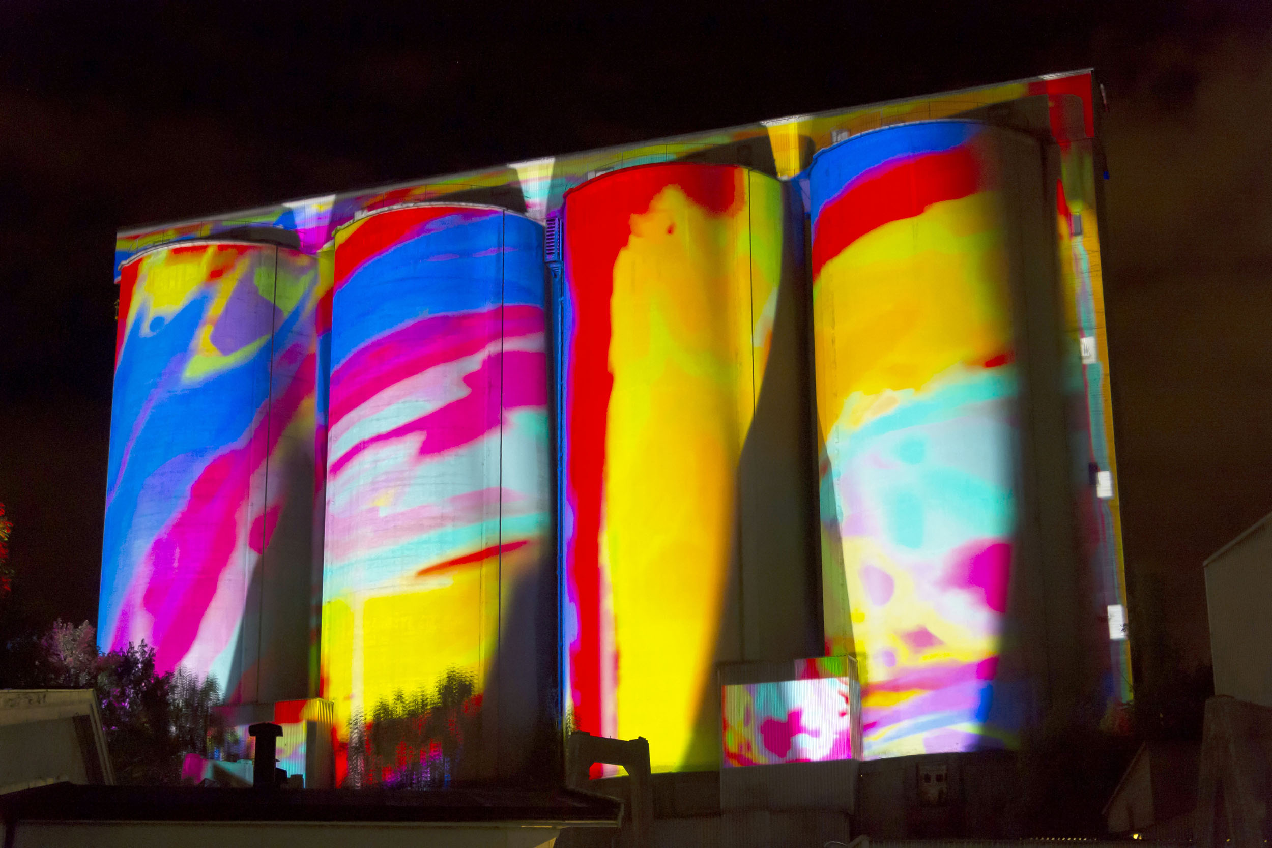 Heavy Light, at the Factory Light Festival, Slemmestad