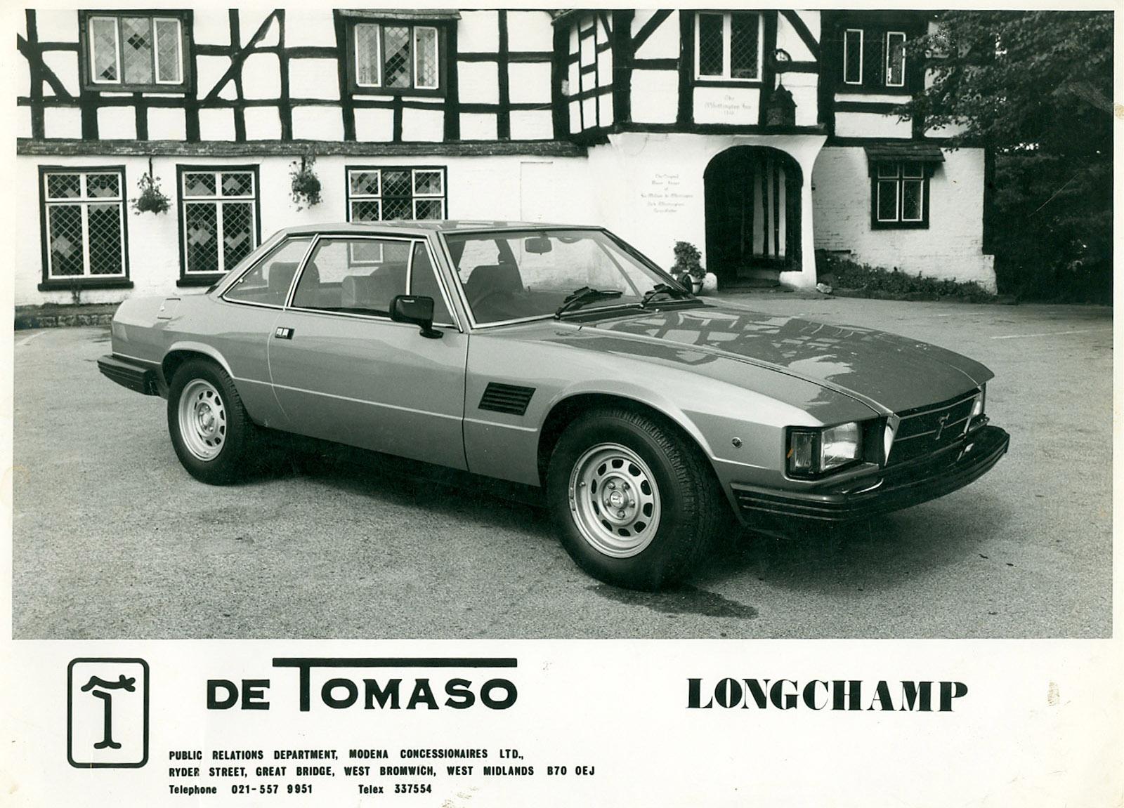 De Tomaso Longchamp 2+2 coupe (Ghia.)