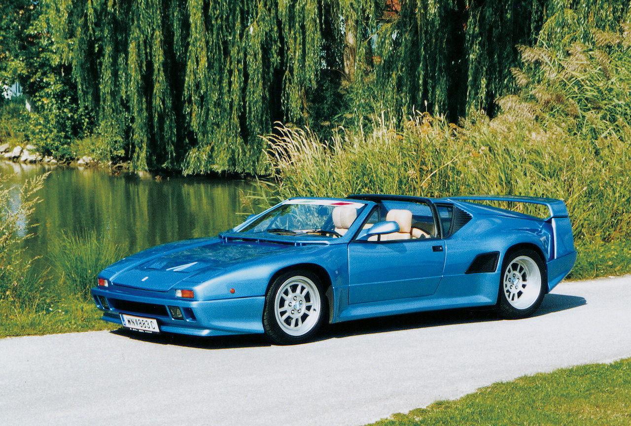The De Tomaso Pantera 200,named after its top speed of 200 mph.