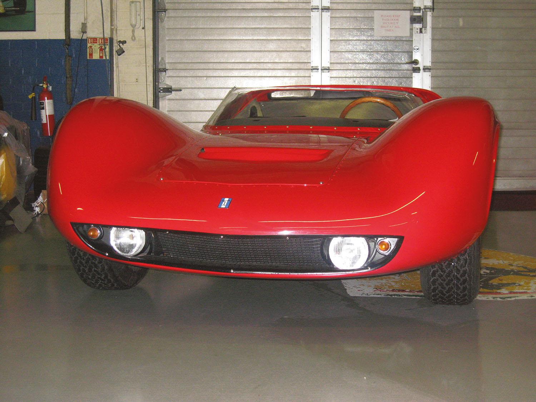 Vallelunga Ghia Spyder 'Competizione 2000.'