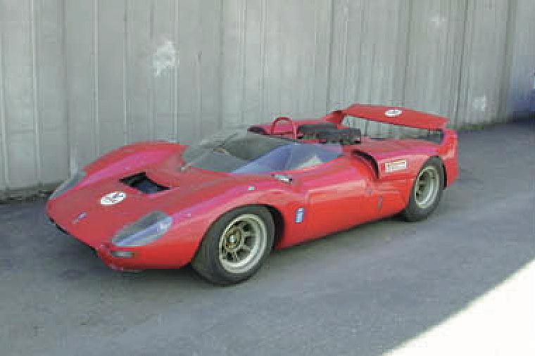 De Tomaso Sport 5000.