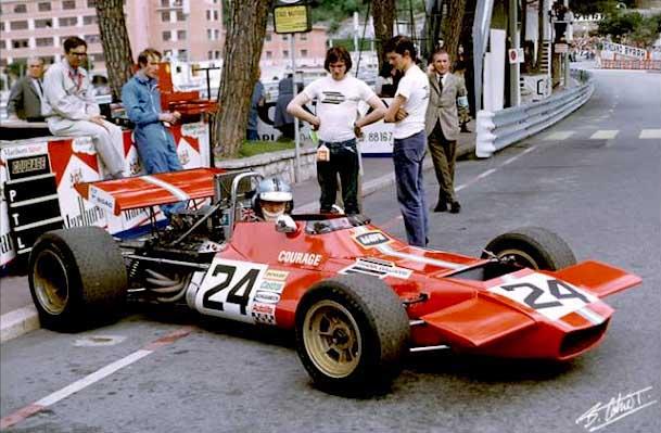 Preparations for the 1970 Formula 1 season.