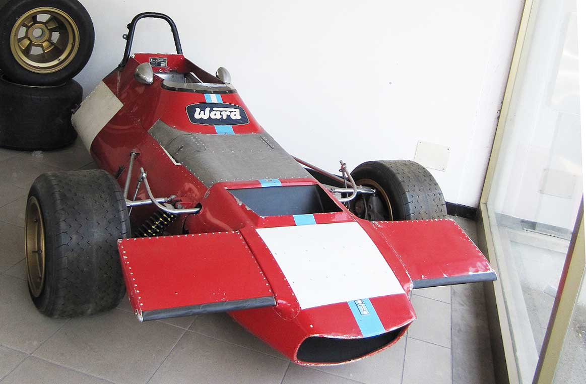 The only remaining Formula 1 race car.