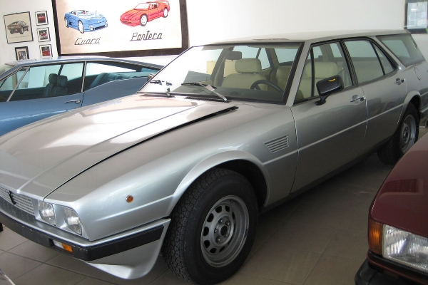 A one-off Deauville station wagon, reputedly made for Mrs De Tomaso.