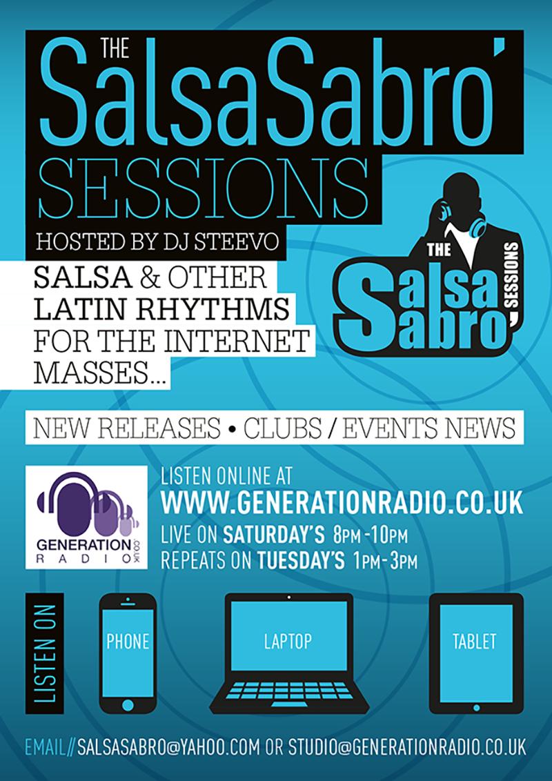 Radio show flyer