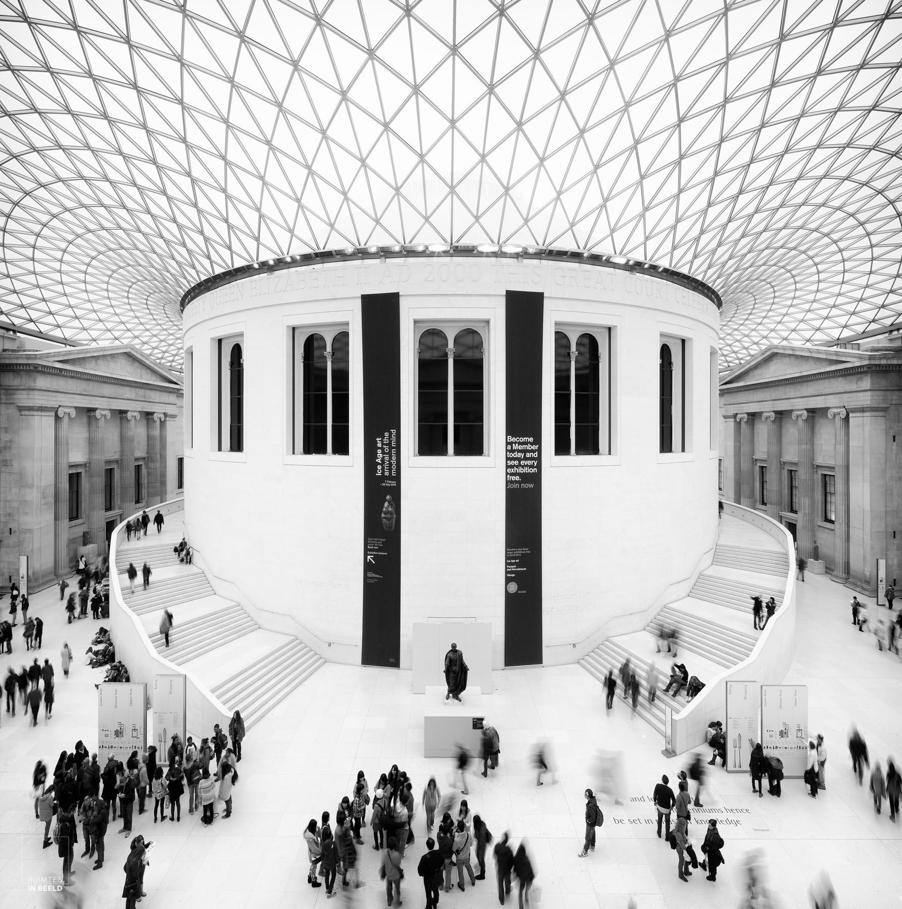 British Museum door de ogen van een architectuurfotograaf