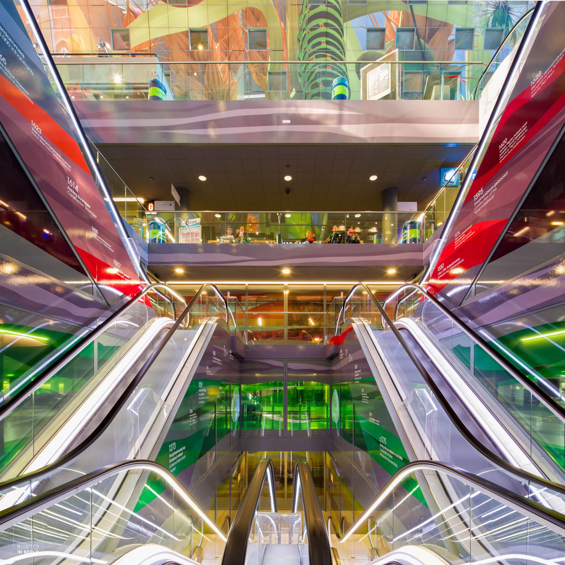 Architectuurfotografie Markthal Rotterdam