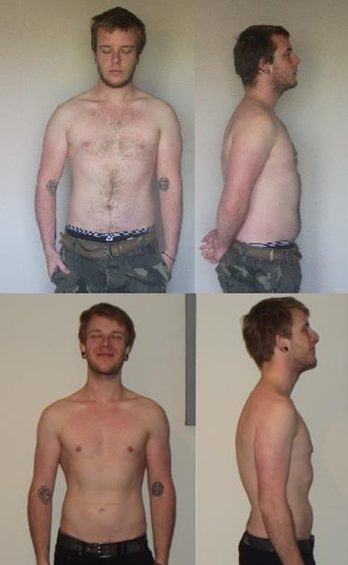 Rory's 3-month Fasting transformation