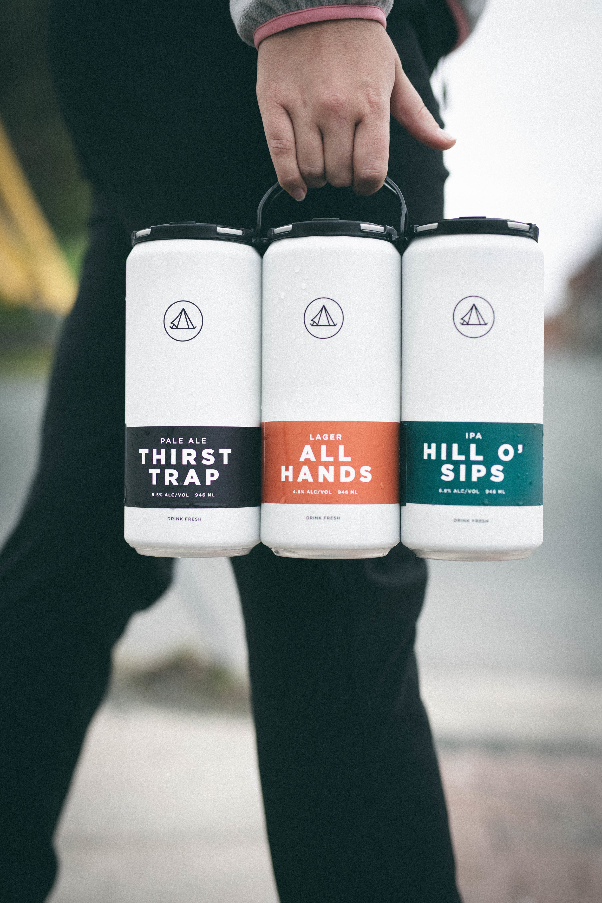 Our cans are here! - Crowler cans are a great way to take fresh beer home; or to the park, on a hike, to a party, up the harbour, down the shore, etc.