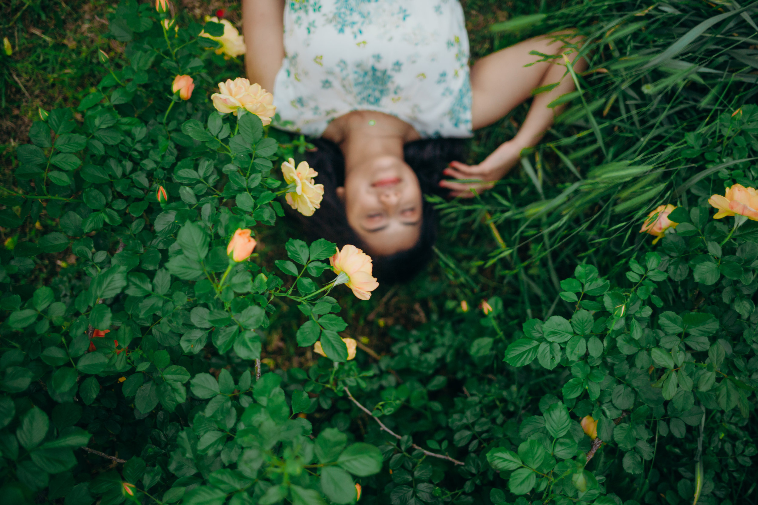 greenery and whimsy portraits