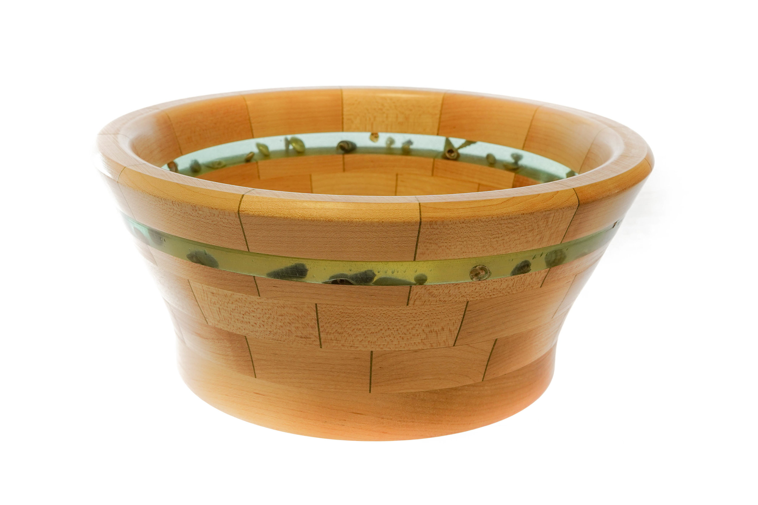 RJC Wood Creations - Resin Bowl Green (3).jpg