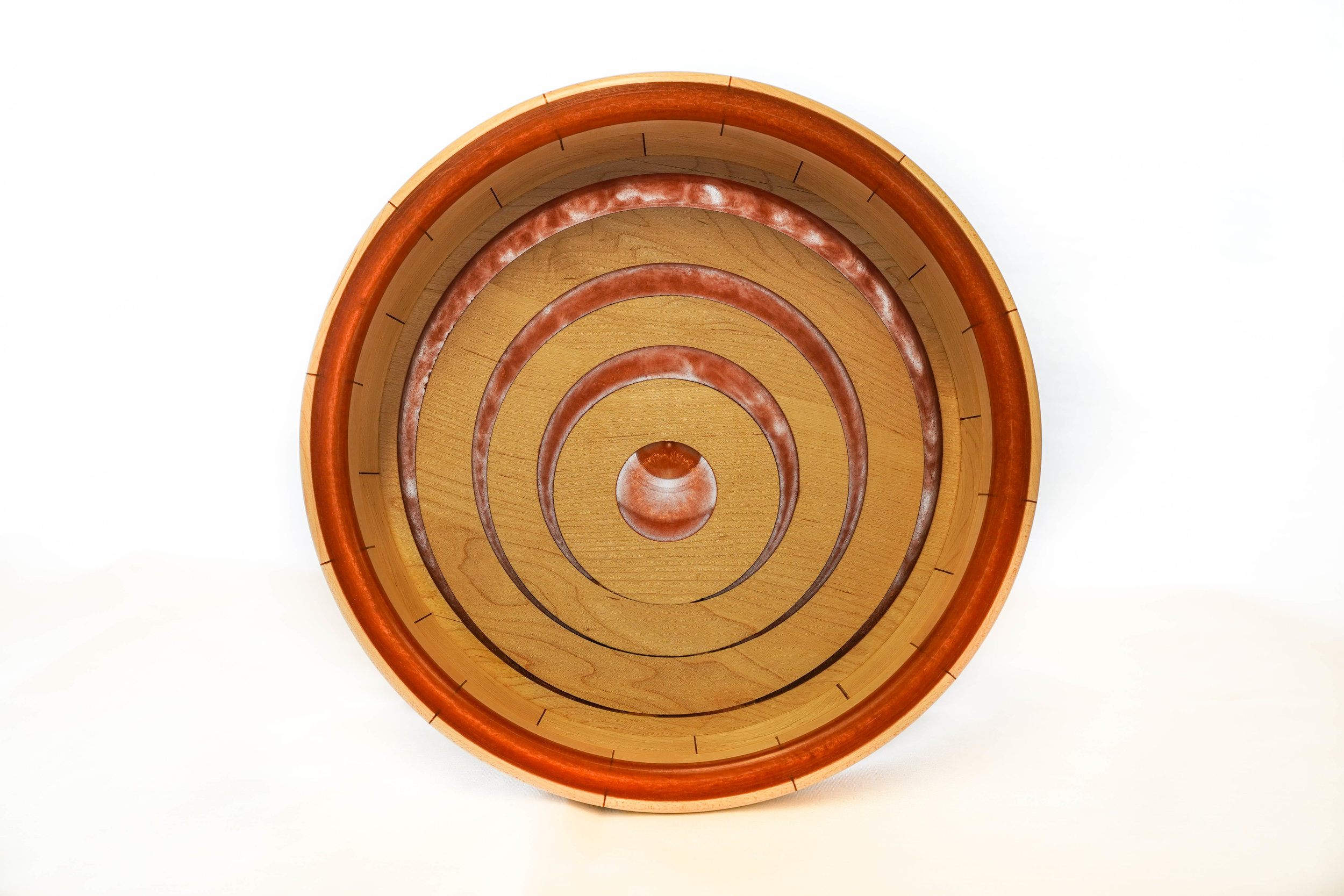 RJC Wood Creations - Resin Bowl Red (2).jpg