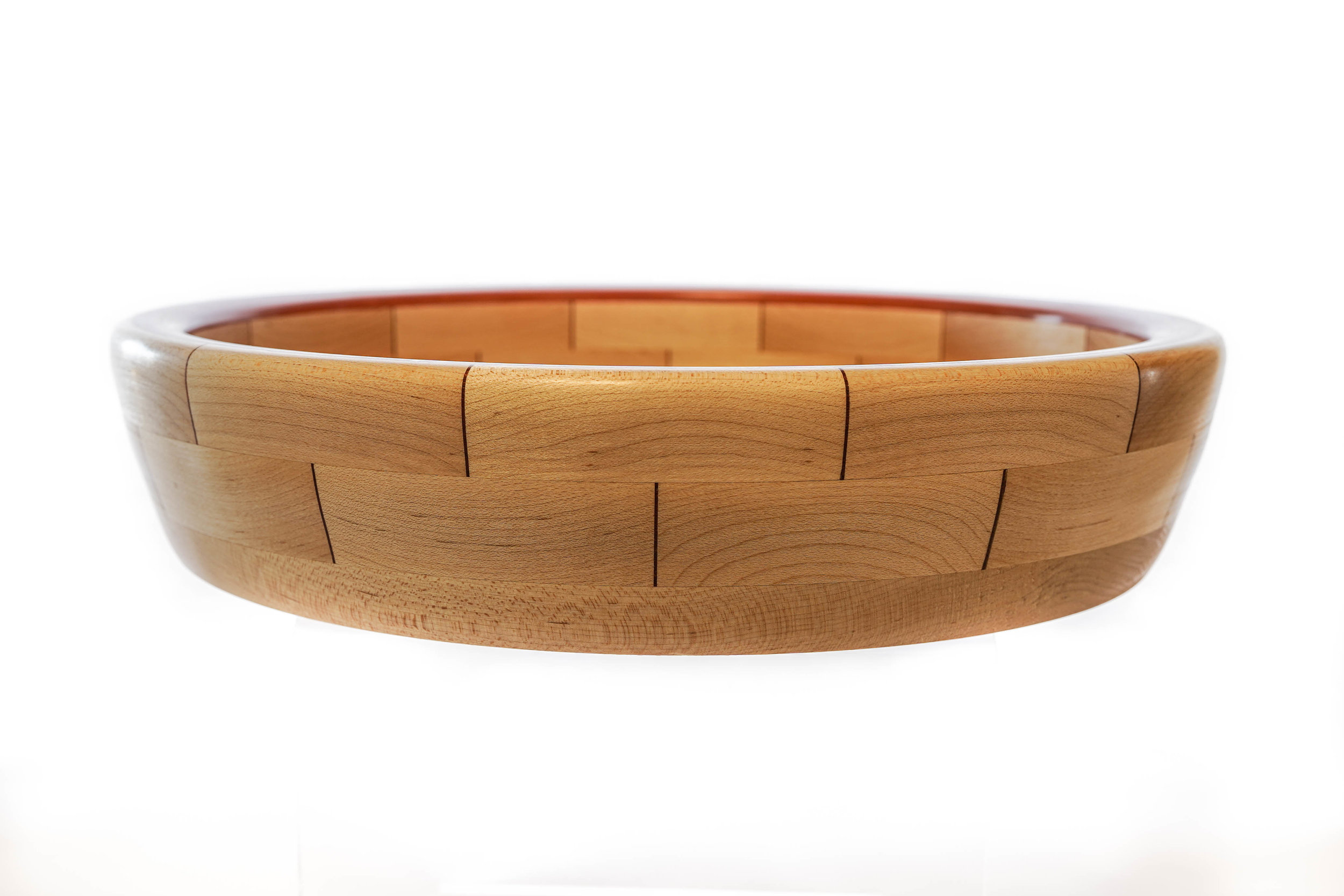 RJC Wood Creations - Resin Bowl Red (1).jpg