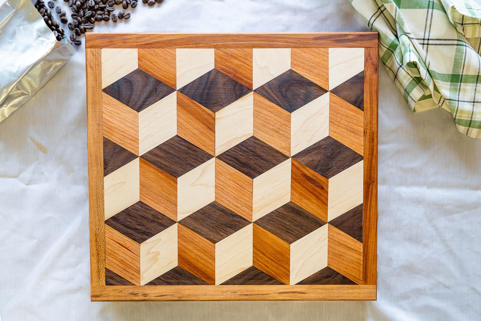Hexagon Geometric Design Cutting Board-1.jpg