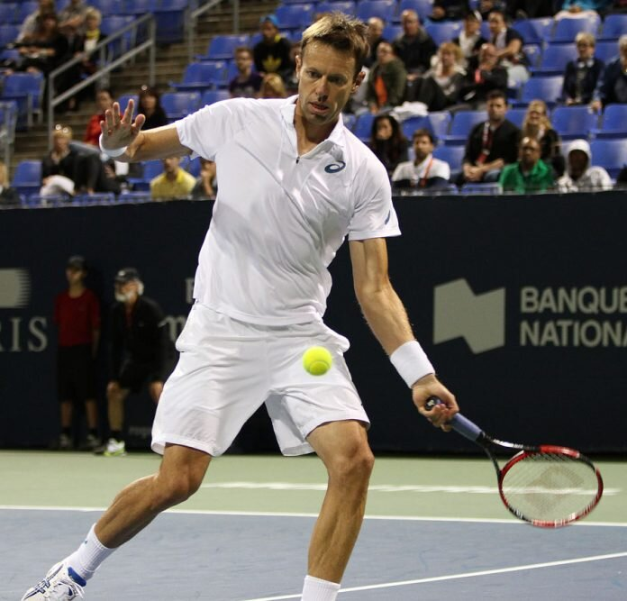 Doubles tennis great Daniel Nestor will hold a tennis clinic and play in an exhibition game Saturday to highlight the Cayman Cup competition. - Photo: Courtesy of Pierre Fortier of Tennis Canada