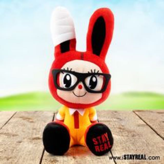 Stay Real French Fries Bunny 薯條小兔公仔 - 2011 special figurine!Brand new in packagingHeight 13.5 cm, width 10 cmPrice: $30.00 SG