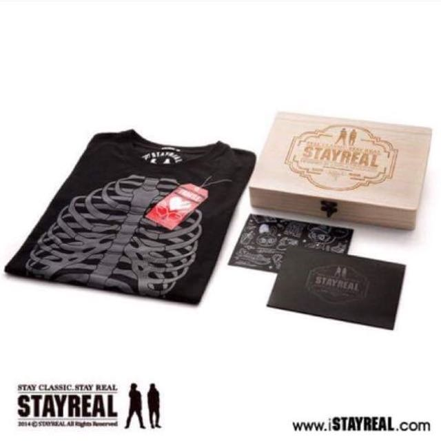 Stay Real Super Limited Edition Box Set - Brand NewSize MThe t-shirt is placed in an intricate box.Price: $108.00 SG