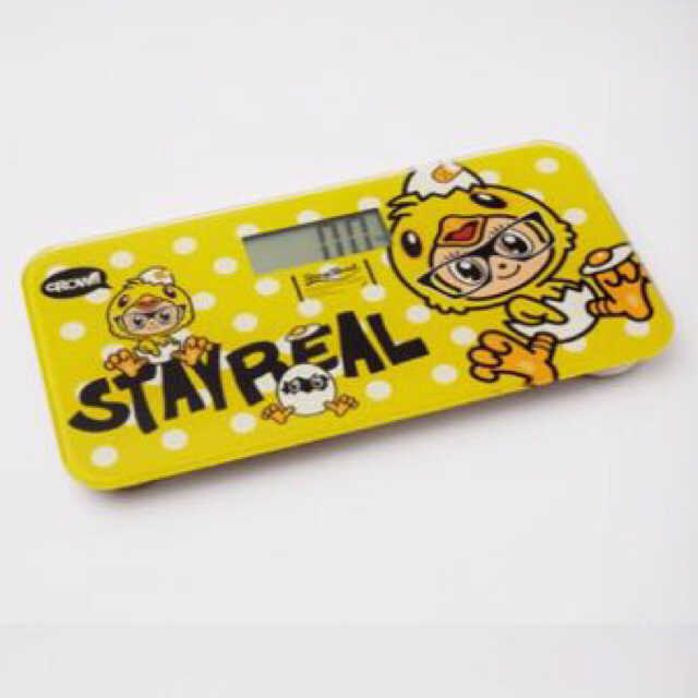 Stay Real Limited Edition Weighing Scale - Limited edition weighing scale still in packagingDimension: 16 X 31 cm, 550 gPrice: $35.00 SG