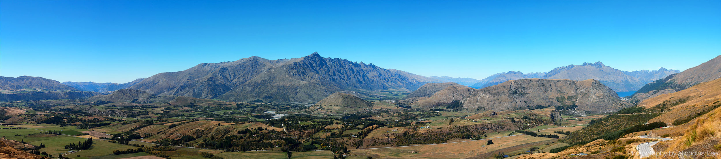 A truly remarkable panoramic shot of The Remarkables by  N icholas Lee (photographer of  Furry Photos )   Who was on Coronet Peak in early Autumn and captured the subtle shades of colours. The Remarkables mountain range and Coronet Peak are not just well known ski regions but also popular for off-season activities. Do you know that The Remarkable was featured as the slopes of Dimrill Dale in the Lord of the Rings where Aragorn led the Fellowship to Lothlorien after the Mines of Moria? Both The Remarkables and Coronet Peak are located in Otago, a south-eastern region on New Zealand's South Island, which entices adventure and nature lovers with its dynamic terrain of mountain ranges, lakes, beaches and diverse wildlife!
