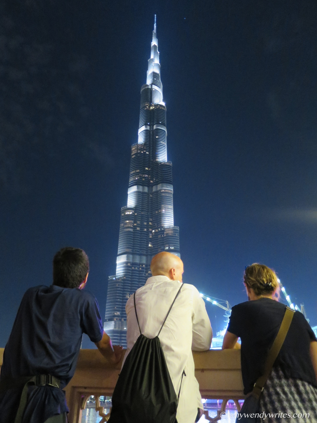 Postcard from Burj Khalifa -