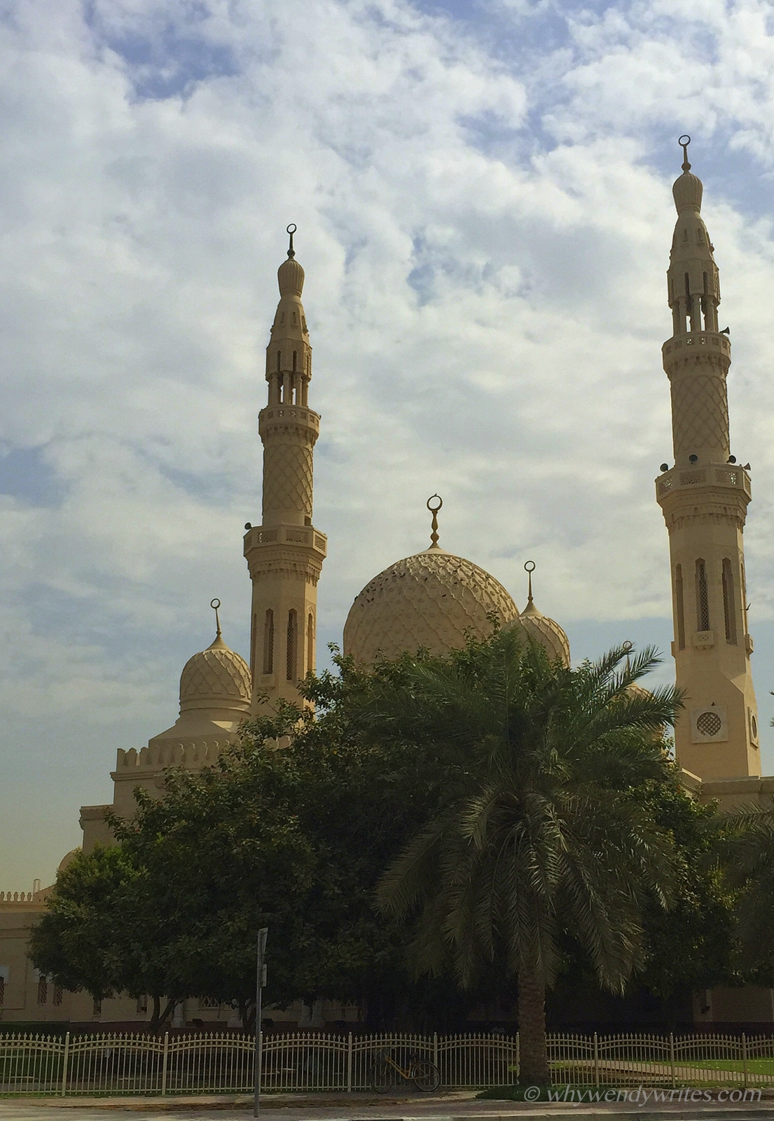 Postcard from Jumeriah Mosque -