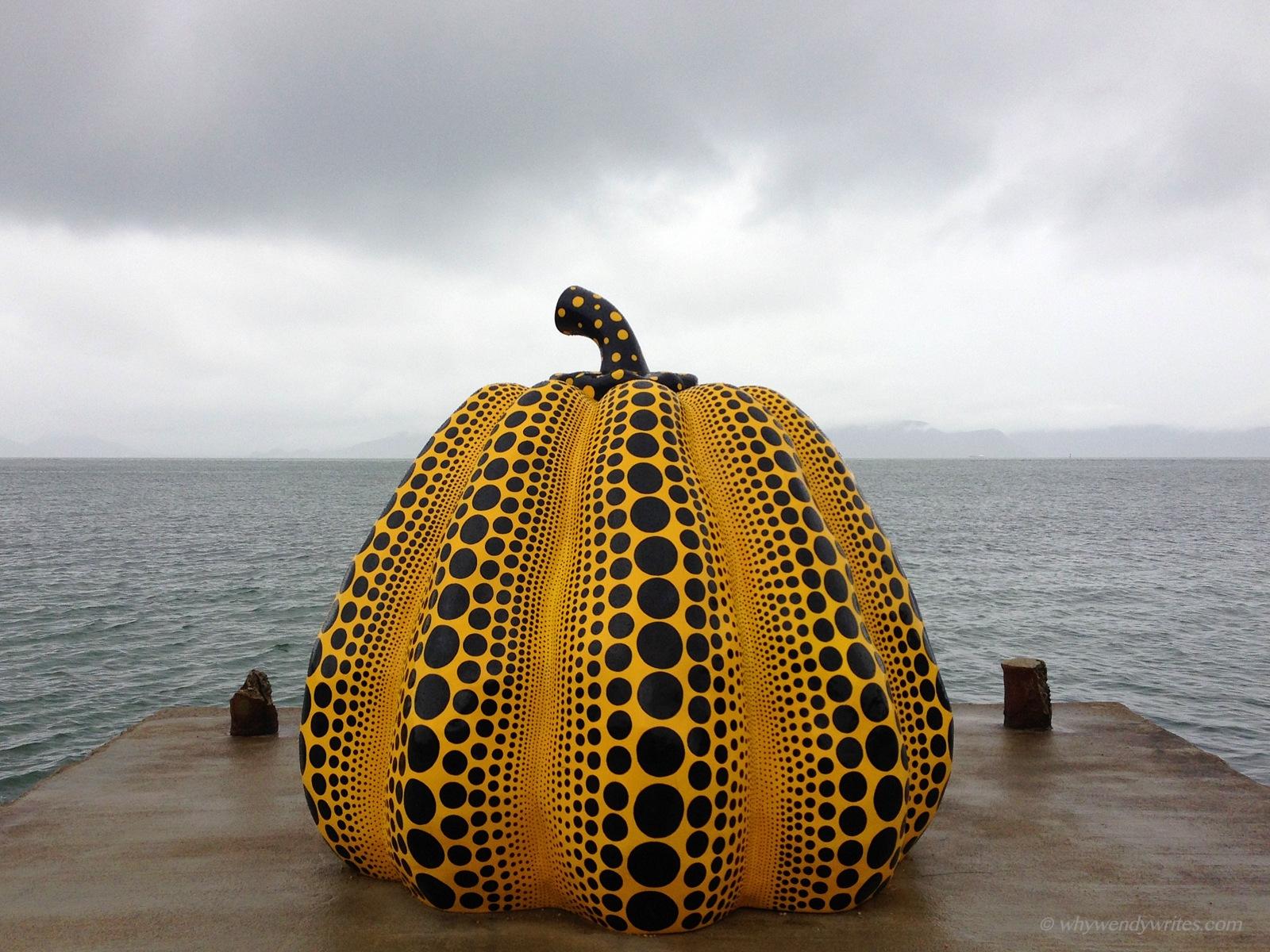 1-3 Yayoi Kusama's Pumpkin.JPG