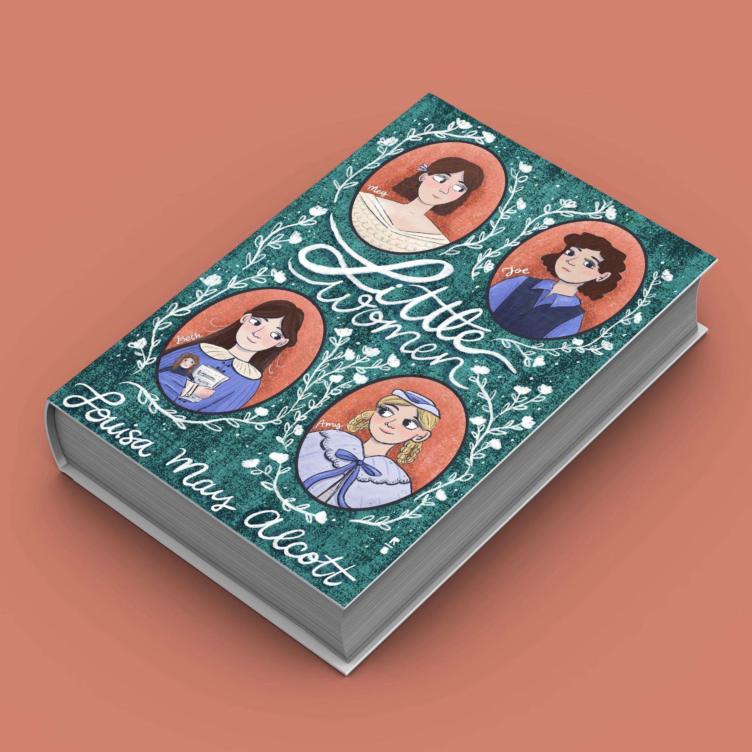 Little Women Book Cover Design