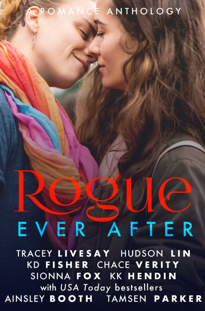 Love never dies. Hope never ends. The Rogue series wraps up with 8 new romances for dreamers who know Happily Ever After is a chance for a new start.     For Love & Country by Tracey Livesay     Zora grows disillusioned as her Senator boss bows to pressure to back the president's agenda. Frustrated, she hands in her notice. Ethan is stunned by Zora's resignation...and the realization of his feelings for her. Will he do the right thing or risk losing Zora's respect and her love?     Ipso Facto ILU by Hudson Lin     When PhD student Brandon's celeb crush shows up on campus, he can't believe it. The pundit is out of Brandon's league, but there's a spark that makes him hope. Brandon's adorable nerdery is Jonny's kryptonite. Yet tempting as he is, Toronto is a no when Jonny has a job in Vancouver. When a storm strands Jonny, he stays at Brandon's where they fend off the cold with heated debates and hotter kisses. But a night isn't enough to convince Jonny to move—is it?     A Little Rebellion by KD Fisher     Veteran teacher Ruth wasn't ready for a woman at the dog park to divert her attention. She can't afford to pursue love when her students need her. It's Mia's first year teaching and she has to get it right: stand up to her intolerant principal, not get distracted by a crush. As their relationship grows, they must fight to save their school and decide if their friendship can be something more.     The Blundering Billionaire by Chace Verity     Billionaire Jayden-James Hancock has spent his whole life in his mother's shadow but an opportunity for change arrives with his new assistant. Tired of debt struggles, Isla Dyer rallies hard for student loan reform. Inspired, Jayden-James joins the movement. While changing his clothes has always been easy, changing the world—and falling in love—might be a different catwalk.     Good Service by Sionna Fox     Evan doesn't miss politics. Bartending a stone's throw from the state house is as close as he'll get now, until Tessa sits tearing apart a bill, full of passion. Tessa might be three steps ahead of the former wonk, but sparks fly over offers to put her in touch with old contacts. Tessa's burning need to fix the world could bring Evan too close to the old fires, but he can't resist the temptation.     Love You Like That by KK Hendin     One café manager swamped with guilt over not being politically engaged enough. One overwhelmed Congressional aide who thinks he's failed DC when DC failed him. Two friends scared to admit how in love with each other they are. Can existential crises, too many feelings, and far too much caffeine help Jasper and Raina admit their feelings or will it end in heartbreak?     Love Your Love by Ainsley Booth     Two workaholics meet and fall in love. That's the start of the story for biz school prof Tanya and political staffer Penny. A games night with neighbor Win, a wild child artist, sparks something new for Penny. And to her surprise, her beloved partner is all for Penny exploring a new relationship alongside theirs.     Starlet Struck by Tamsen Parker     At the year's hottest awards, Hadley should be on the red carpet with a Hollywood hunk. Instead she'll be escorting queer AF Archer. Archer has better things to do than going to an awards show but she'll go to bring attention to her work: helping homeless LGBTQ youth. Sparks fly but Archer's resentment of Hadley might burn hotter than her passion and it'll take more than chemistry for Hadley to risk her career.