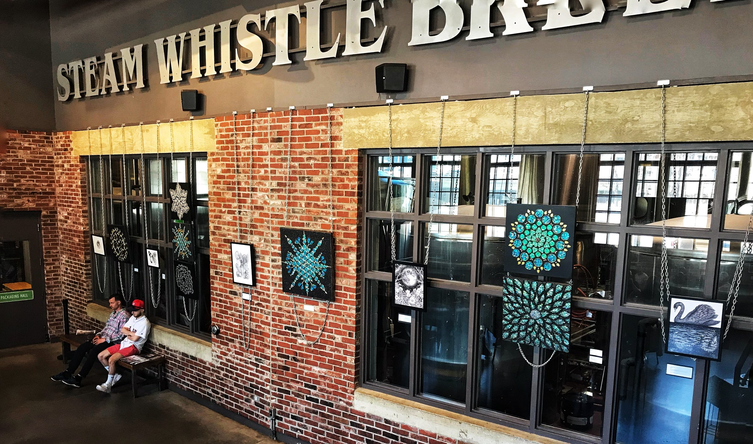 Dreamscapes Art Show, April 2018, Steam Whistle Brewing