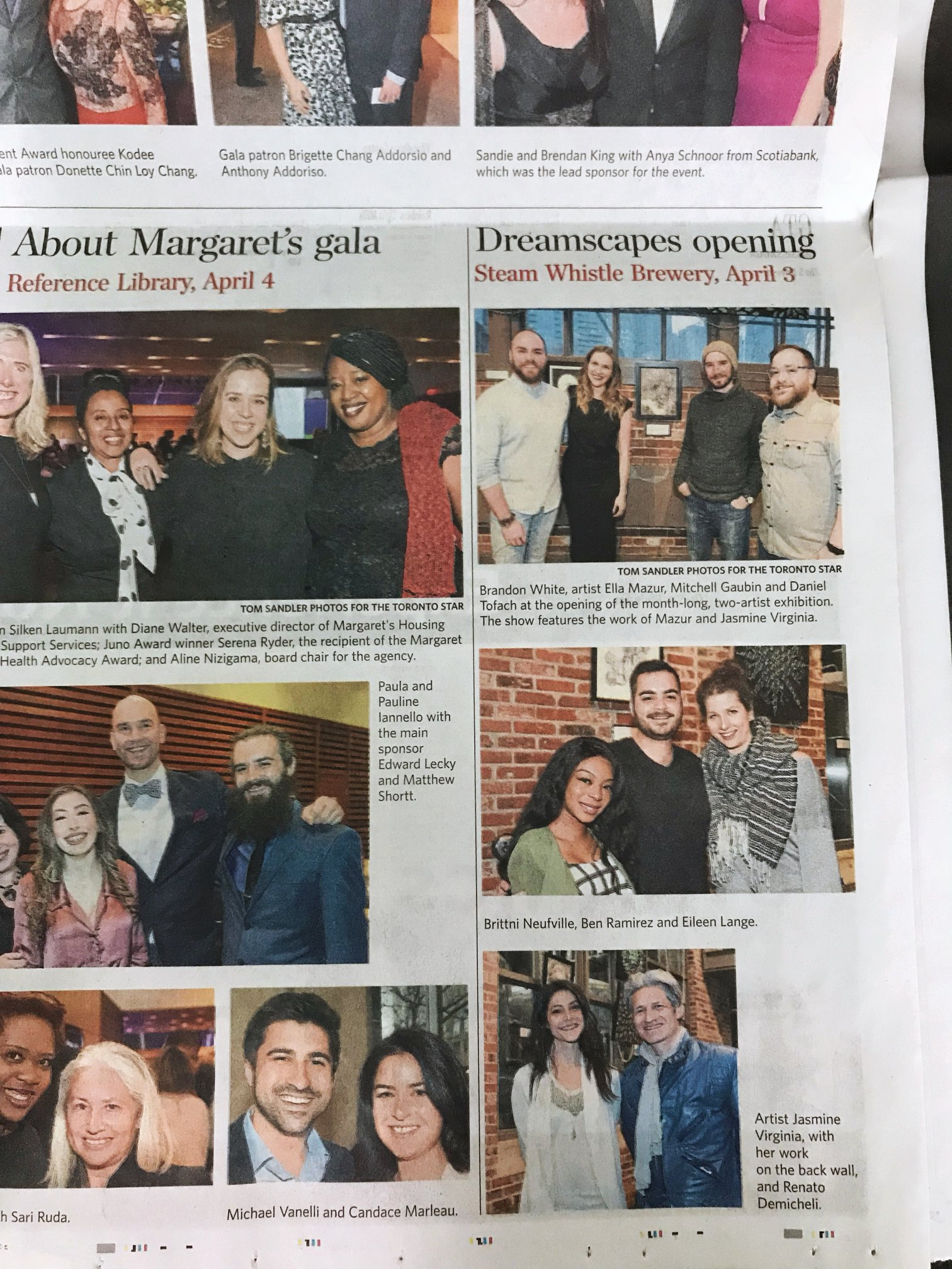 We were even featured in the Toronto Star!
