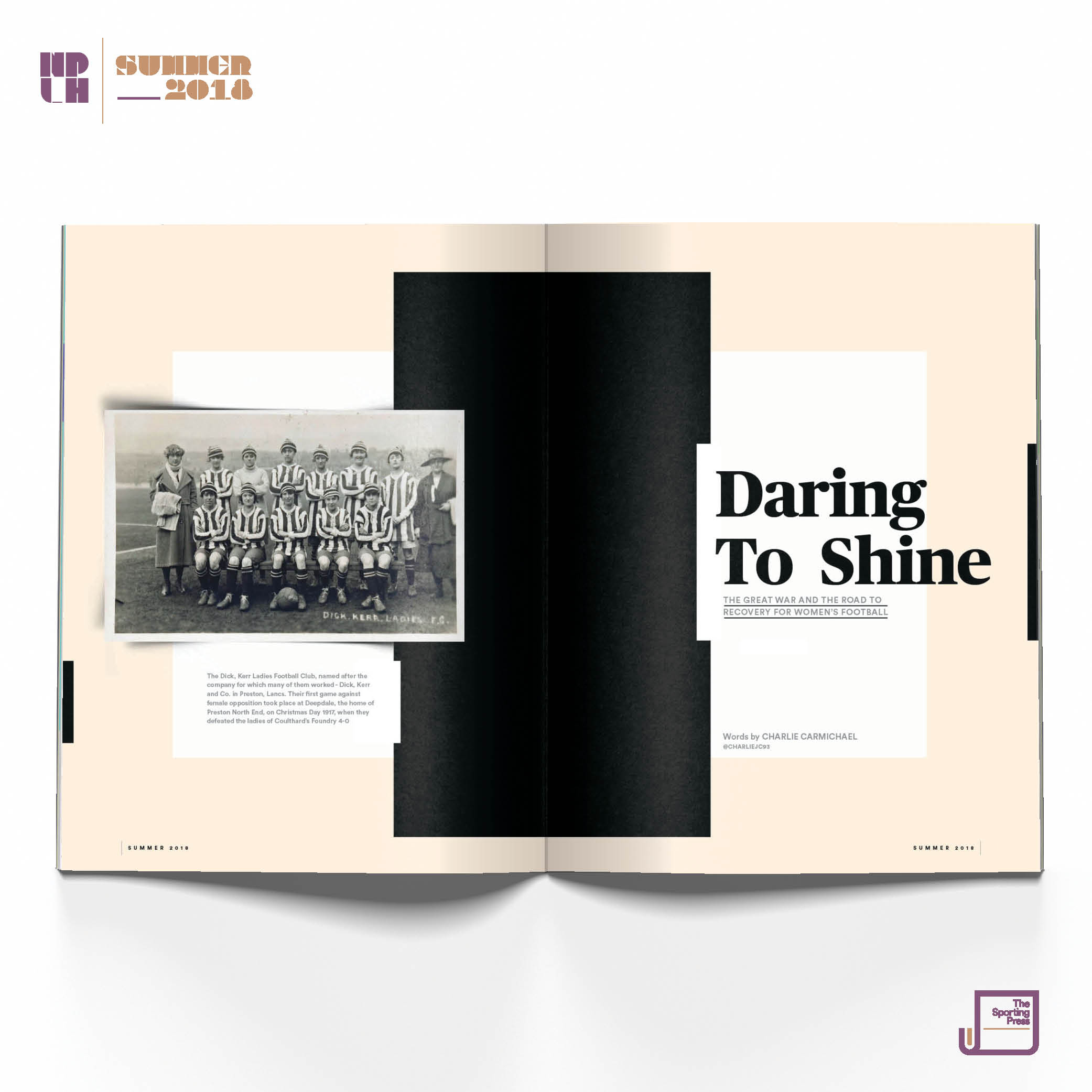 Daring to Shine: Issue 2, Summer 2018