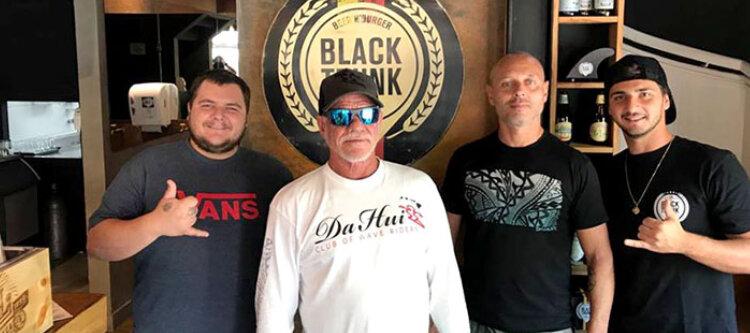 Visita ilustre de  Fast Eddie  no Black Trunk Brasil