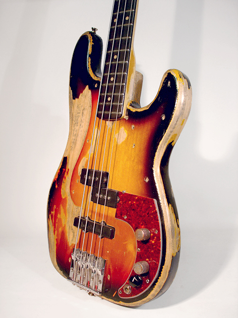 Sims Custom Precision World Tour Aged Finish Bass