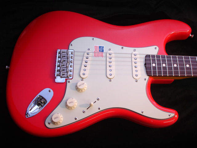 Dakota Red Fender USA Stratocaster