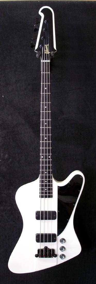 White Custom Gibson Thunderbird