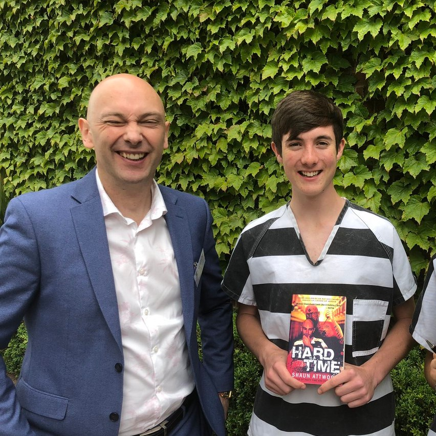 Year 10 received a lecture from public speaker, activist and author, Shaun Attwood.